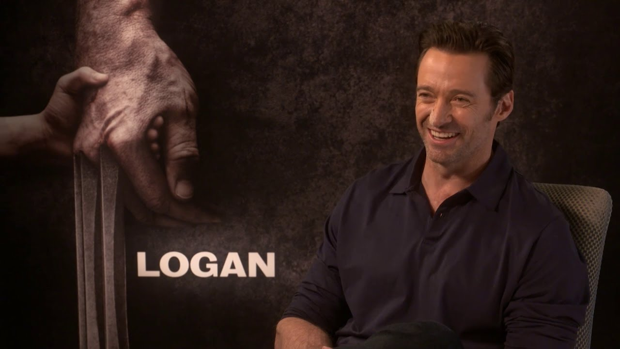Hugh Jackman lost it when he met his celebrity crush - YouTube