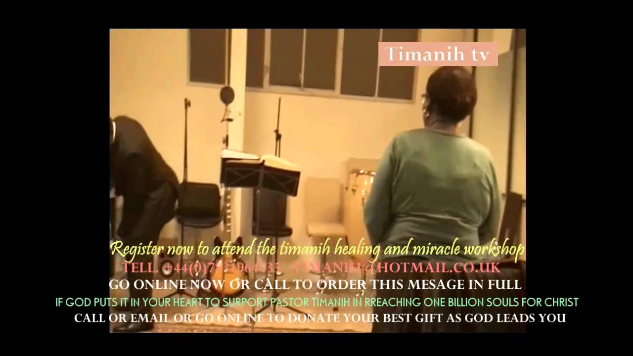 pastor Timanih - How to bind the strong man.22 - YouTube