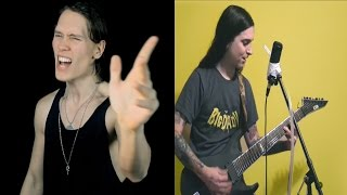 Repeat youtube video BON JOVI - LIVIN' ON A PRAYER (Metal Cover by PelleK, 331Erock & Cole Rolland)