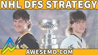 DraftKings & FanDuel NHL DFS Strategy | Hit The Ice | Monday 12/10 | Awesemo.com