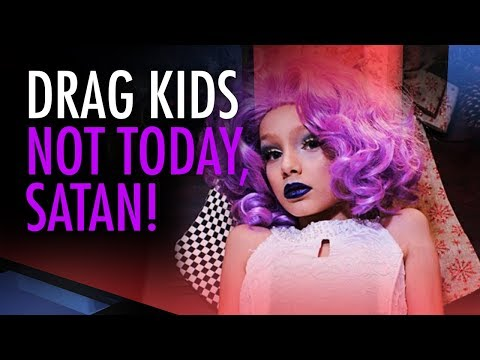 Lucy Brown: Drag Queen Children? Not Today Satan
