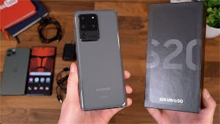 Samsung Galaxy S20 Ultra Unboxing!