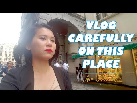 Vlogging at a dangerous place in  Belgium! (Brussels) |Gold buildings, Waffles, family vlog|