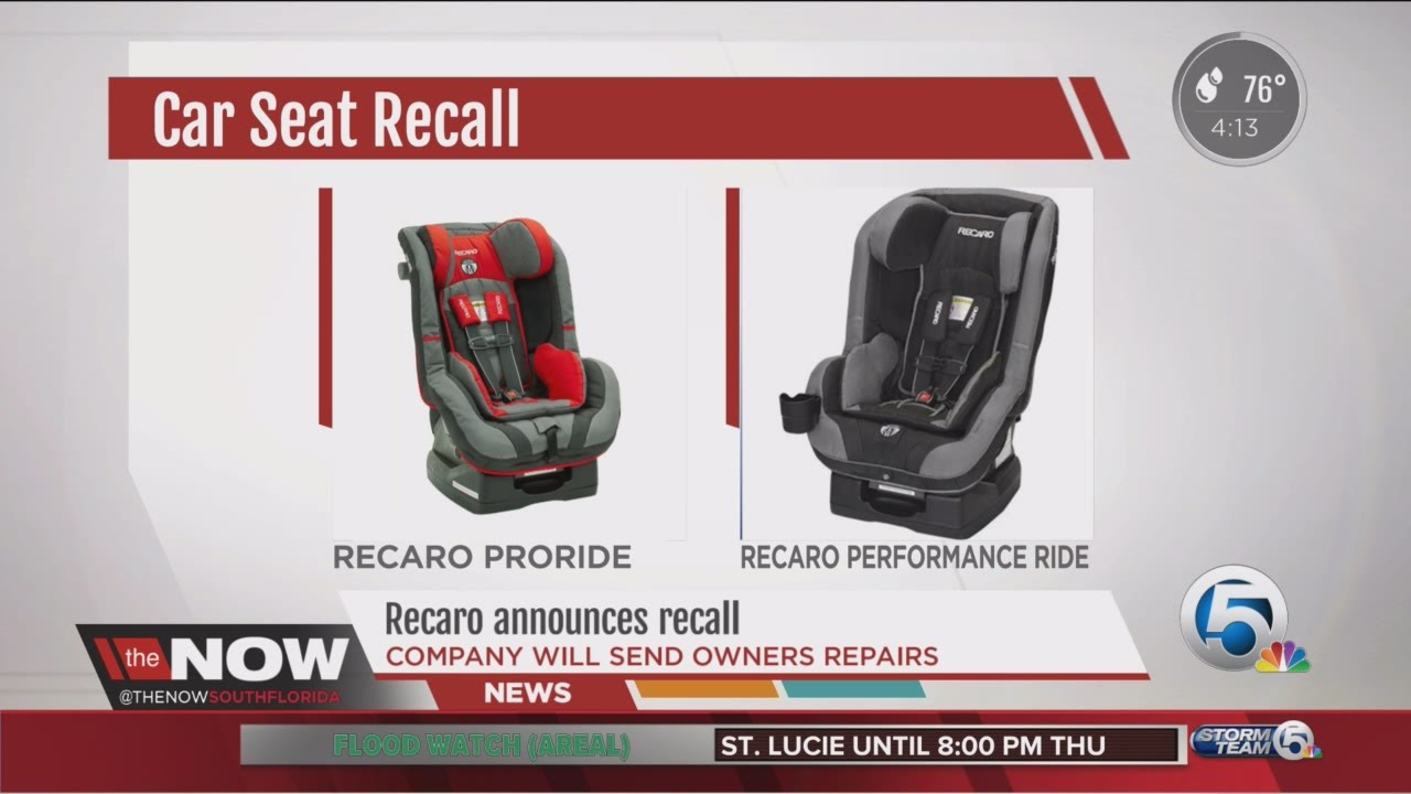 Recaro Announces Recall