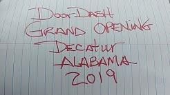 Doordash Grand Opening Decatur Alabama 2019