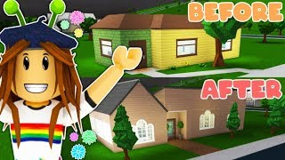 Renovating a Pre-Built Home in Bloxburg - Roblox (Happy Home of Robloxia)
