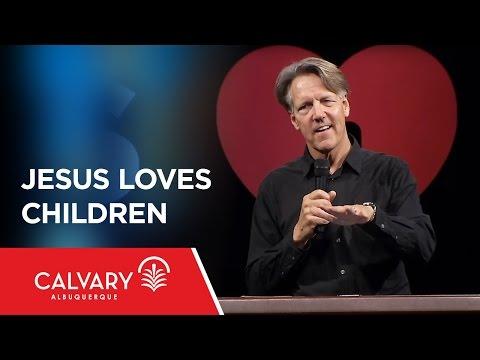 Jesus Loves Children - Matthew 19:13-15; James 1:26-27