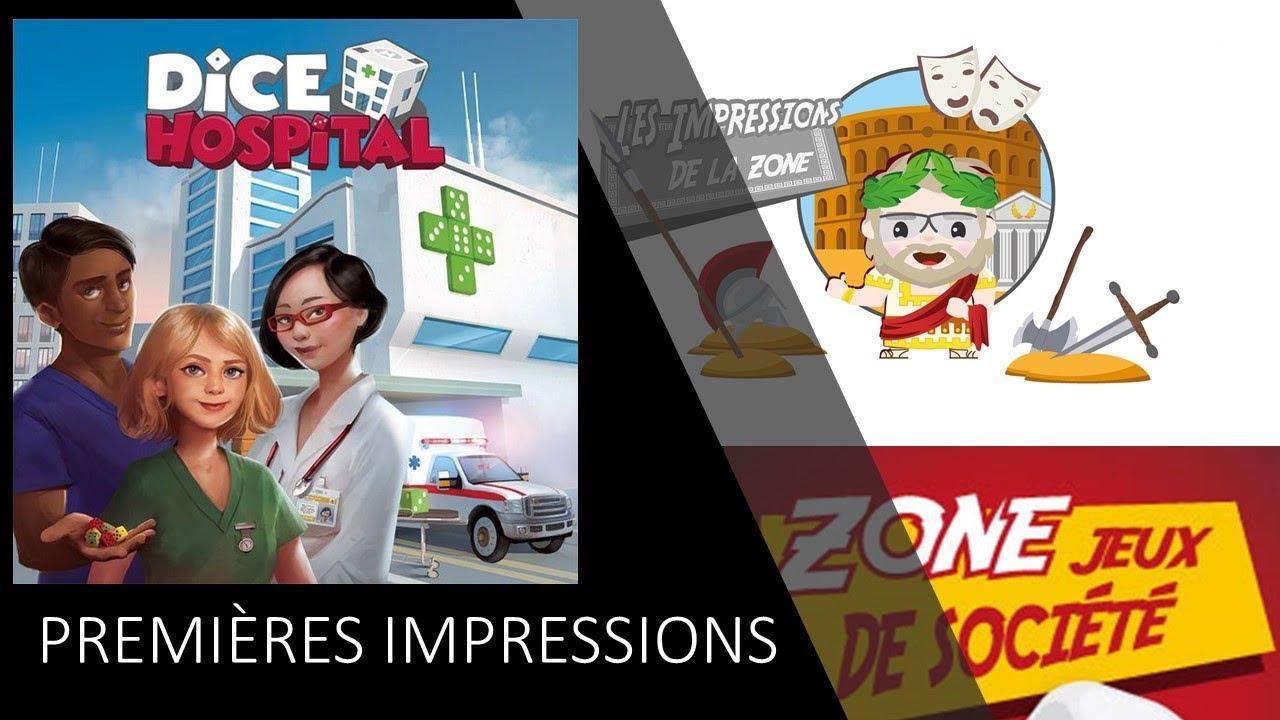 33cc152c7ff Premières impressions de Dice Hospital - YouTube