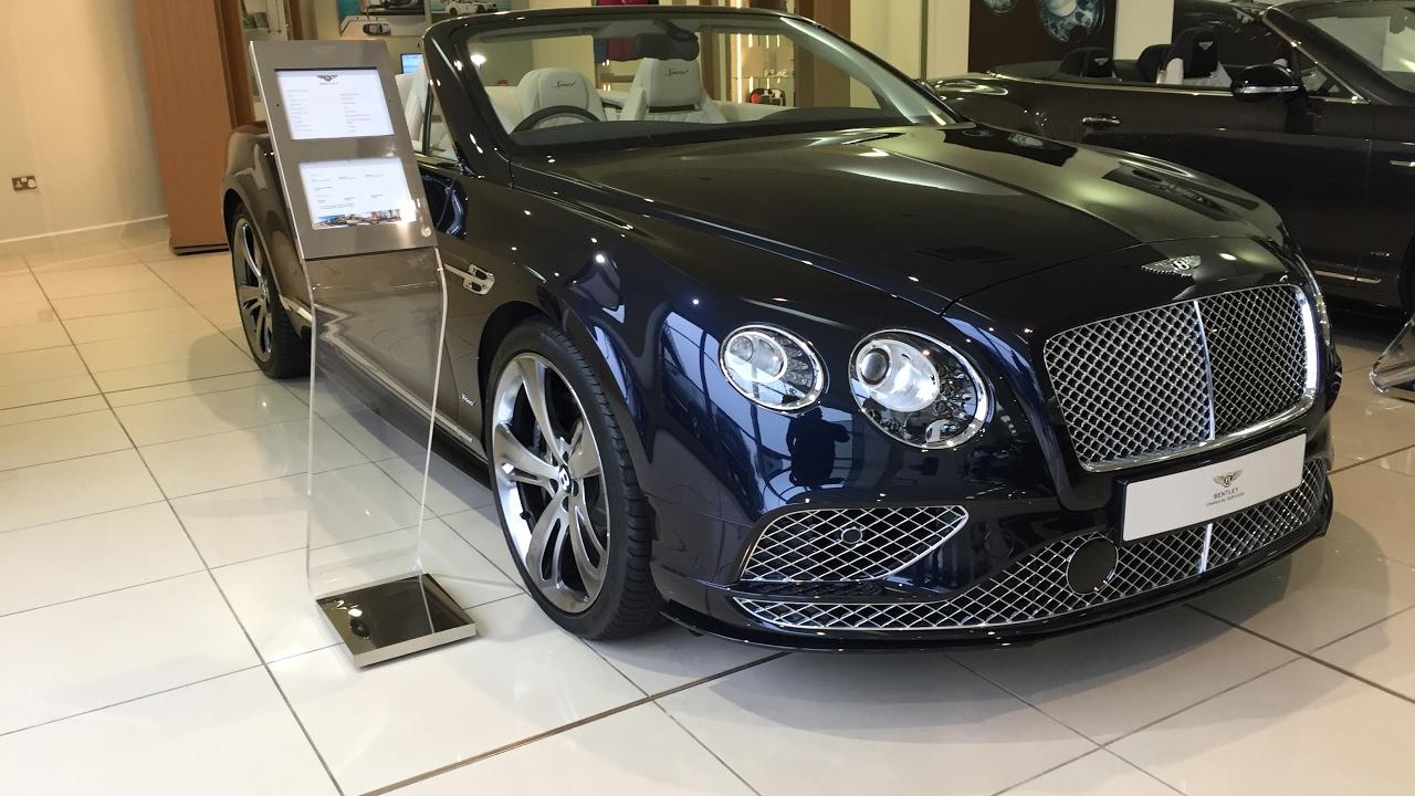 2017 Bentley Continental Gtc Sd Exterior And Interior Review
