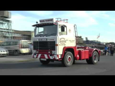 VINTAGE TRUCKS DUBLIN PORT RALLY SEPT 2015