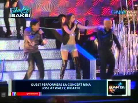 Saksi: Kauna-unahang big dome concert nina Jose at Wally, dinumog