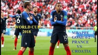 WORLD CUP 2018-PRANCE VS CROATIA-TRẬN CHUNG KẾT PHÁP GẶP CROATIA-MBAPPE GHI BÀN ẤN ĐỊNH TỶ SỐ 4-2
