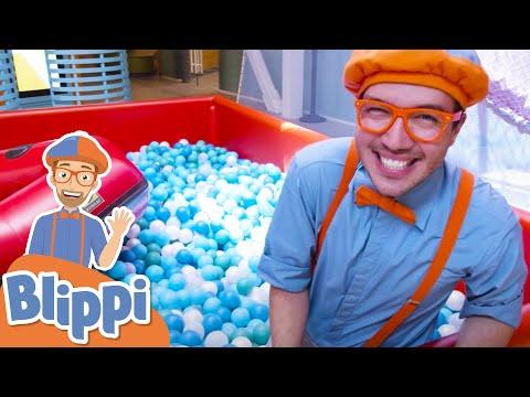 Blippi Visits Cayton Children's Museum | Educational Videos For Kids