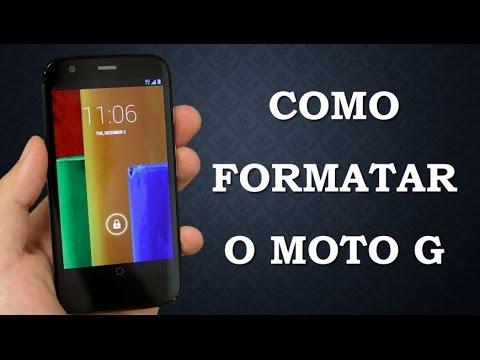 Como Formatar o Motorola  Moto G (Hard Reset)