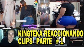 KINGTEKA REACCIONANDO A TWITCH CLIPS PARTE #1 | DOTA 2 COSAS