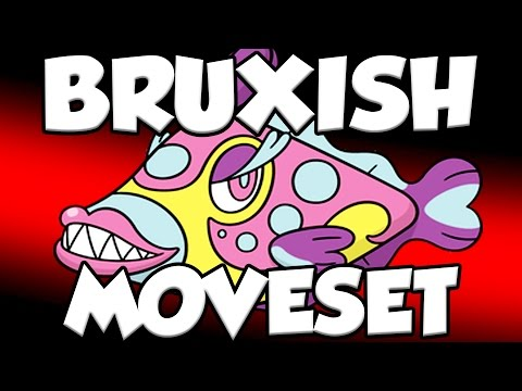 How To Use Bruxish! Pokemon Sun and Moon Bruxish Moveset and Bruxish Guide