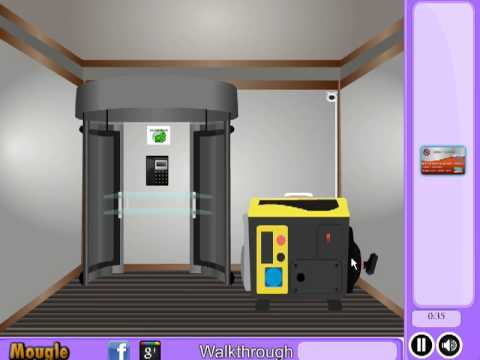 Atm room escape video walkthrough youtube for Escape room equipment