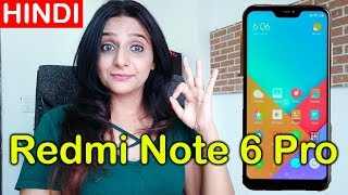🇮🇳 [Hindi] Xiaomi Redmi Note 6 Pro Review of specifications, features, camera, price in India