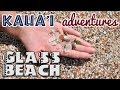 Best beach to visit on Kauai : Glass Beach : Sea glass picking : Show Some Aloha
