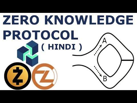 ( Hindi ) Zero knowledge Proof क्या है  ZK-SNARKS Zencash Zcash ZCoin