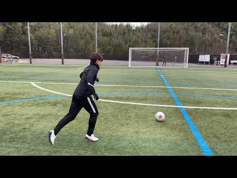 【サッカー】実践系動画 キックの名手による多球種FK