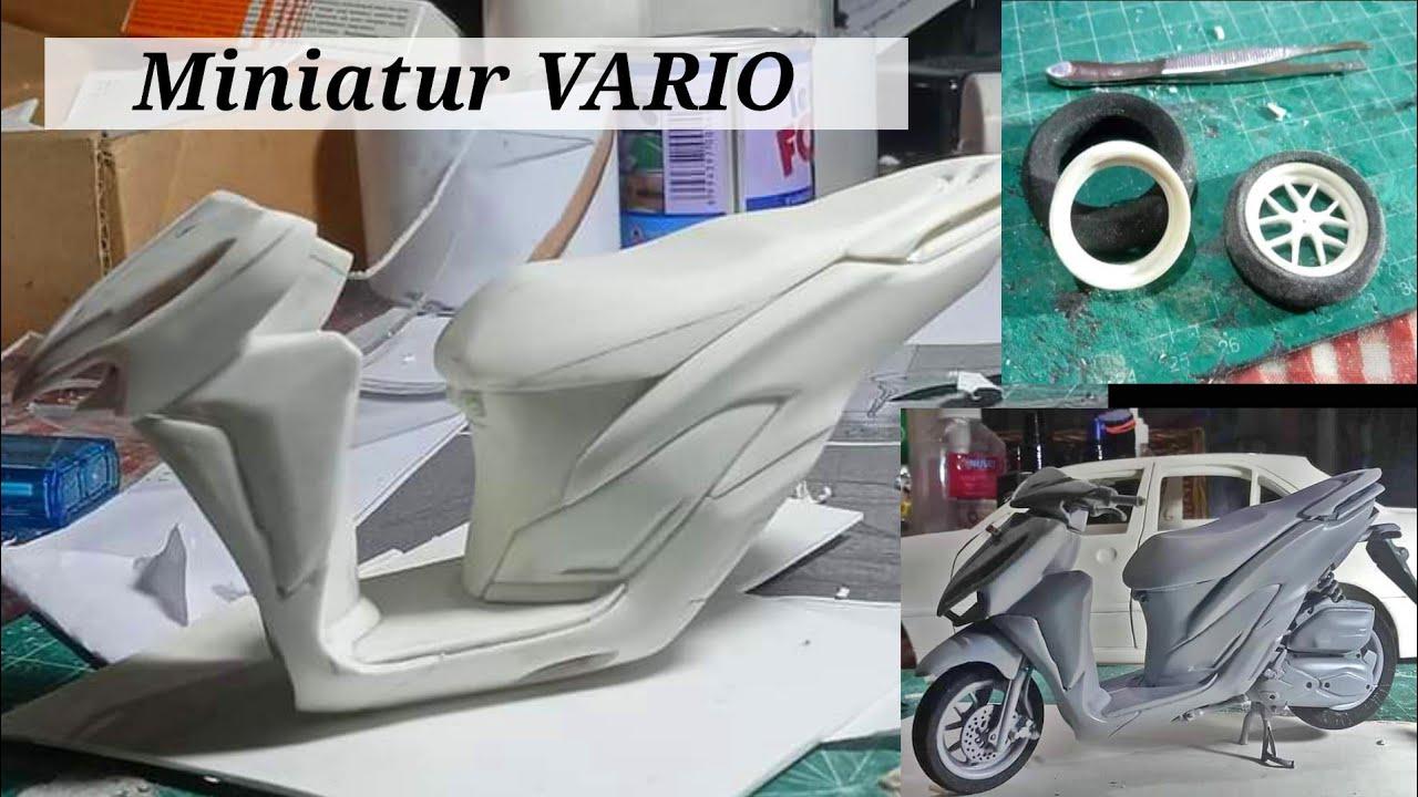 Miniatur MOTOR VARIO dari pipa PVC