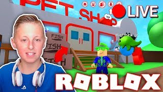 🔴 Roblox Live Stream Bloxburg, Meep City, Jail Break, MM2, Assassin & MORE!! Join Me