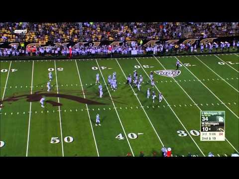 NCAA Football 2015.    Michigan State Spartans - Western Michigan Broncos 04.09.2015
