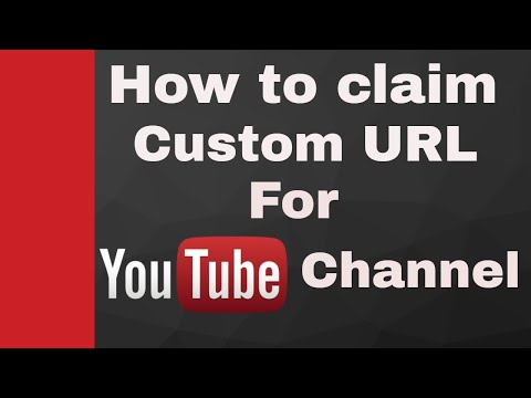 How Do I Get My Custom Url? For My YT Channel & Rules For Getting - In Hindi