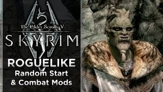 Skyrim Roguelike with ZiggyD #5 PART 2 - Zorc the Orc  (Heavily Modded Mini Adventures)