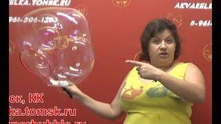 Поговорим об АКВАРИУМЕ? Аквариум на ракетке - много мыльных пузырей вдуваем в один