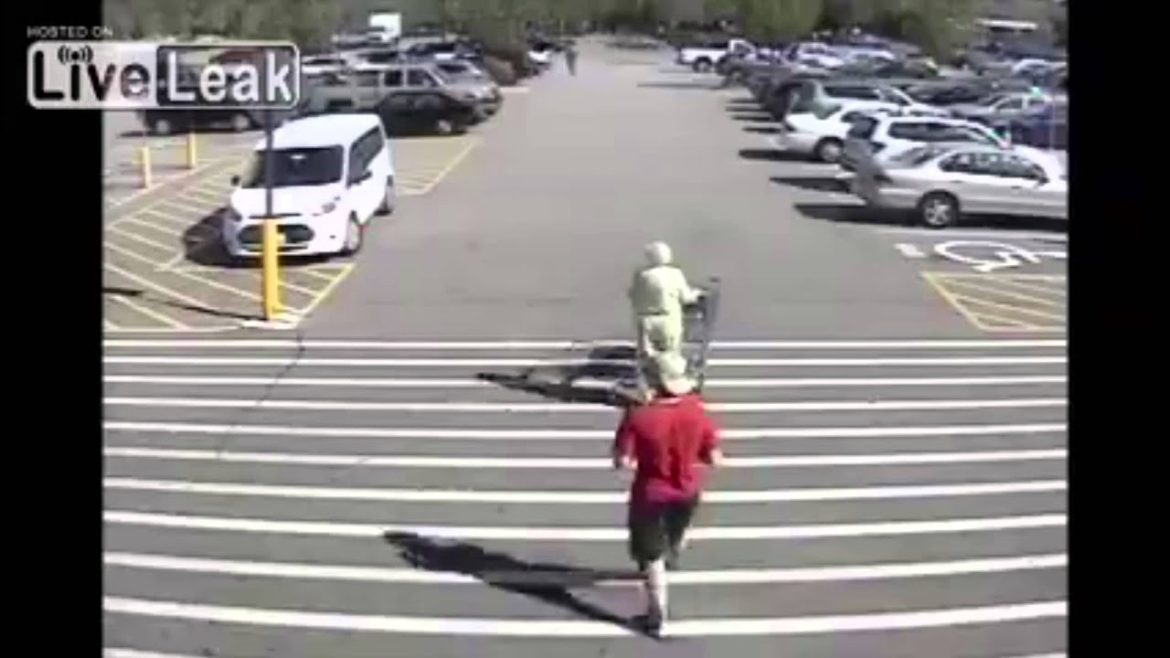 Teen White Thug Steals Old White Woman's Purse At Walmart