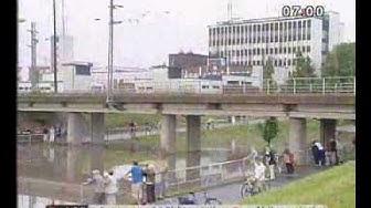 Porin tulvat - MTV-3 Uutiset  13.8-2007