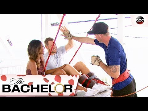 Bungee Jumping with Colton - The Bachelor
