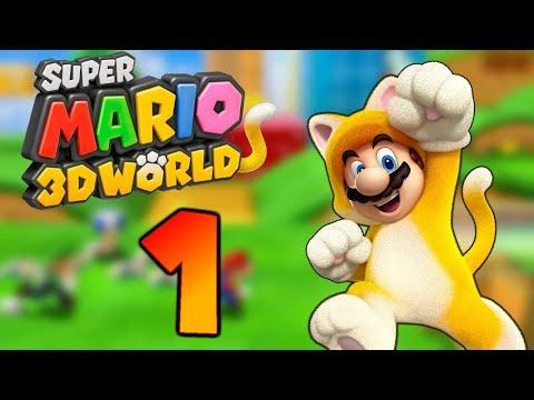 SUPER MARIO 3D WORLD Part 1: Zufällige Charaktere am 2