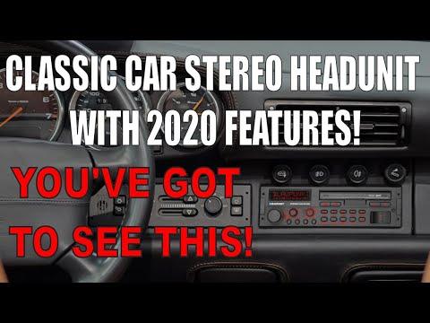 BLAUPUNKT BREMEN SQR 46 DAB STEREO HEADUNIT UNBOXING CLASSIC BMW MERCEDES PORSCHE AUDI VW 911 E30 E9