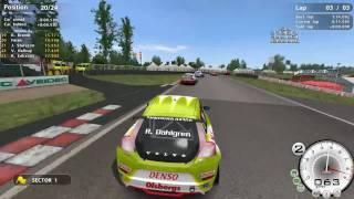 Aggressive racing with Volvo - STCC The Game 2 Gameplay