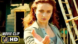 X-MEN: DARK PHOENIX (2019) Clip - Jean Grey Helicopter Attack [HD]