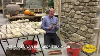 Geopietra steenstrips plaatsen door Peter Eekhof
