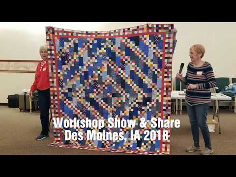 Workshop Show &Share, Des Moines IA 2018