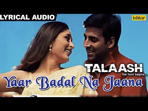 Yaar Badal Na Jaana Full Song With Lyrics...