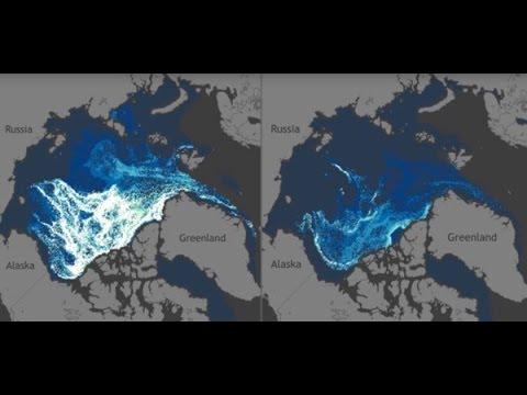 Zanik wieloletniego lodu morskiego Arktyki (napisy PL)