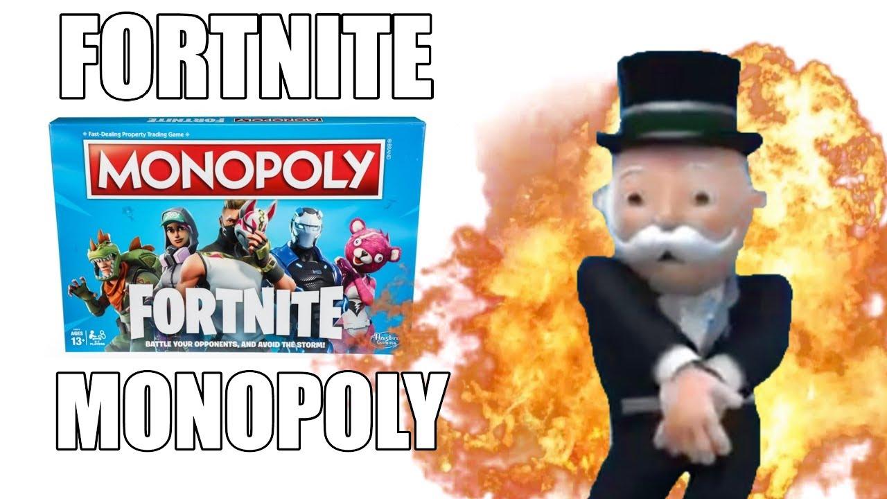 Fortnite Monopoly Youtube