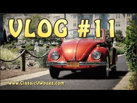 Classic VW BuGs VLOG #11 The Secret to a Healthy Beetle, Keep it Simple!