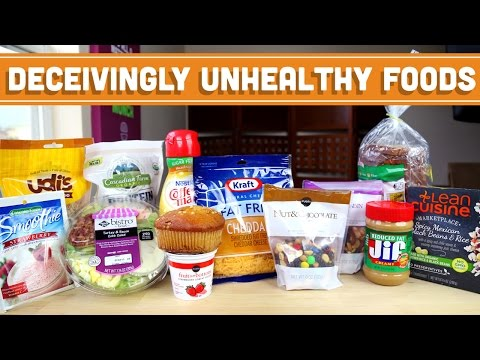 "Top 10 Unhealthy ""Health"" Foods! Mind Over Munch"