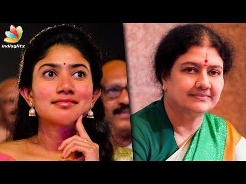 Sai Pallavi Turns a Politician ?   Jayalalitha Biopic