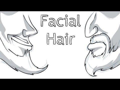 Lets Draw Facial Hair YouTube