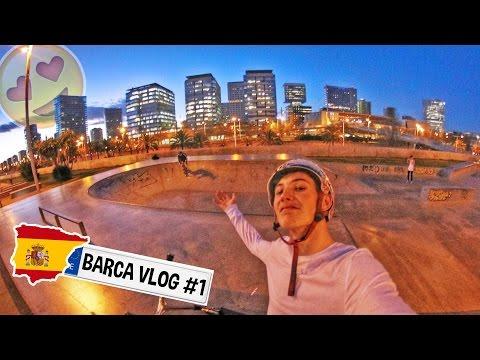 BARCELONA NIGHT SKATEPARK SESSIONS!