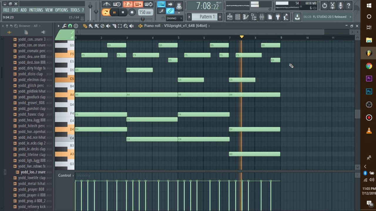 The BEST FREE PIANO VST ever: Making a Beat in FL Studio 12 for Yung Bans'  Misunderstood Album