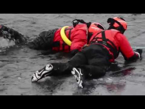 Below Zero: Ice rescue Lake Champlain